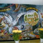 Мозаичное панно Kyungbook's Fall Art Festival