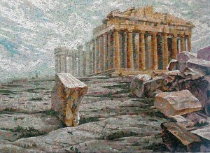 Акрополь - мозаика