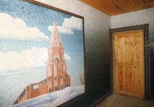 Колокольня - мозаика