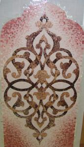Мозаичные узоры -Хамам.