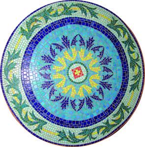 Орнаменты и узоры из мозаики.