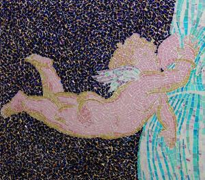 Мозаичное панно.