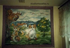 Мозаичное сказка в интерьере Детского садика.