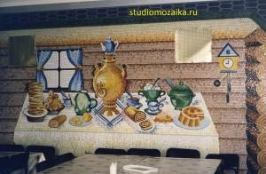 Мозаичная сказка для интерьера Детского садика.