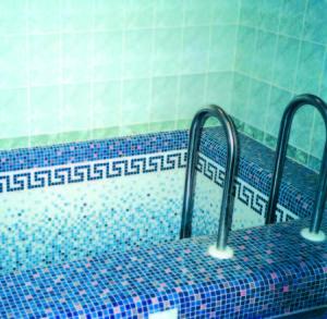 Мозаичное матричное панно в частном доме - Купель.