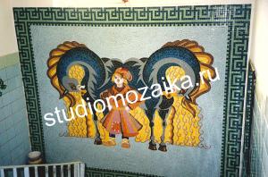 Мозаичное панно -Сказка.