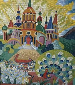 Мозаика панно -художественная техника исполнения.