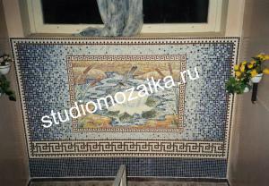 Мозаичное панно на стену интерьера Детского сада.