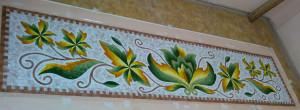 Мозаичный орнамент.