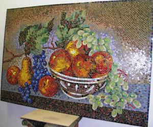Натюрморт из мозаики.