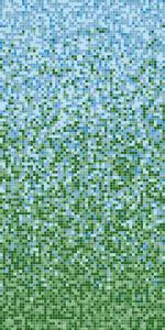 Заводская растяжка из мозаичной плитки.