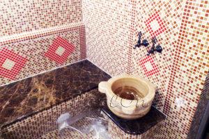 Турецкая баня -Матричное Панно из мозаики.