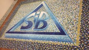 Логотип -Мозаичное панно на Дно Бассейна.