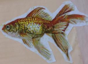 Изготовление панно из мозаики -Рыбка.