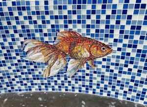 Мозаика -Рыбка.