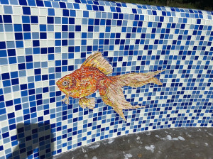 Панно  - Рыбка.
