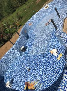 Мозаика для бассейнов.